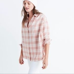 Madewell Central Longsleeves Danville Plaid Shirt